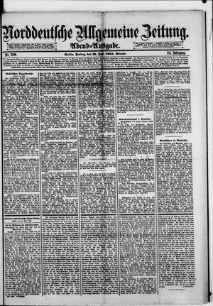 Norddeutsche allgemeine Zeitung vom 19.06.1885