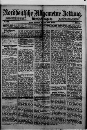 Norddeutsche allgemeine Zeitung vom 26.06.1885