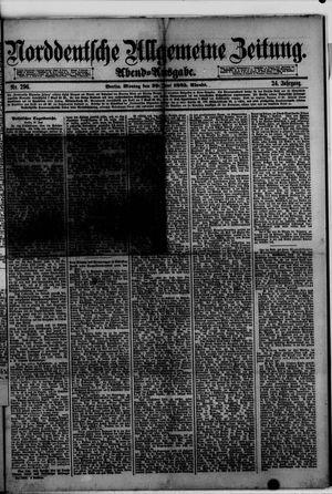Norddeutsche allgemeine Zeitung vom 29.06.1885