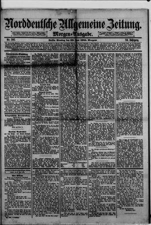Norddeutsche allgemeine Zeitung vom 30.06.1885