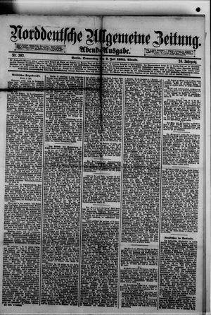 Norddeutsche allgemeine Zeitung vom 02.07.1885