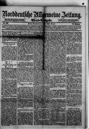 Norddeutsche allgemeine Zeitung vom 04.07.1885
