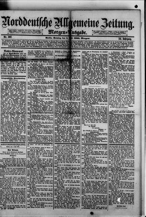 Norddeutsche allgemeine Zeitung vom 05.07.1885