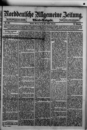 Norddeutsche allgemeine Zeitung vom 06.07.1885