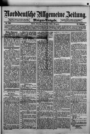 Norddeutsche allgemeine Zeitung vom 07.07.1885