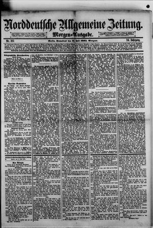 Norddeutsche allgemeine Zeitung vom 11.07.1885