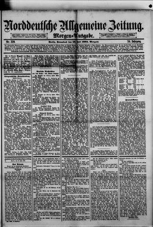 Norddeutsche allgemeine Zeitung vom 18.07.1885