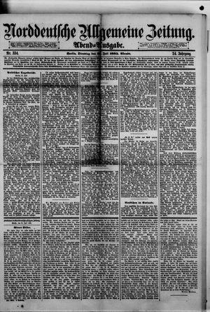 Norddeutsche allgemeine Zeitung vom 21.07.1885