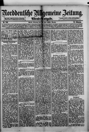 Norddeutsche allgemeine Zeitung vom 28.07.1885