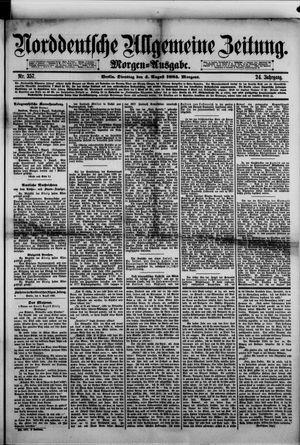 Norddeutsche allgemeine Zeitung vom 04.08.1885