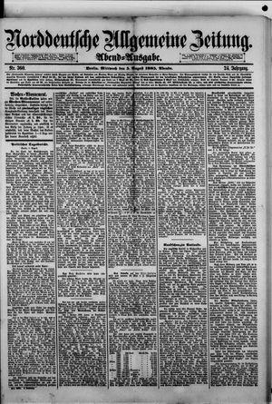 Norddeutsche allgemeine Zeitung vom 05.08.1885