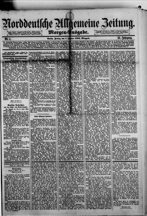 Norddeutsche allgemeine Zeitung vom 01.01.1886