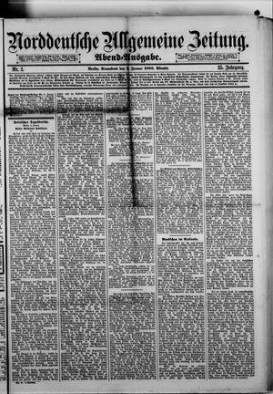 Norddeutsche allgemeine Zeitung vom 02.01.1886