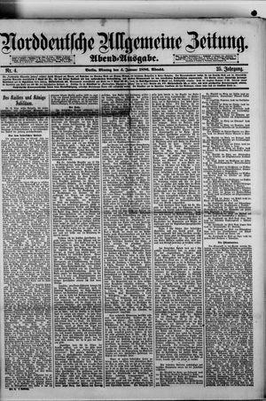 Norddeutsche allgemeine Zeitung vom 04.01.1886