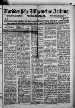 Norddeutsche allgemeine Zeitung vom 05.01.1886