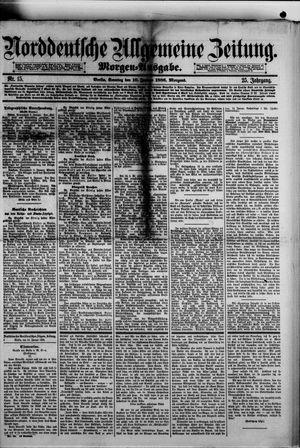 Norddeutsche allgemeine Zeitung vom 10.01.1886