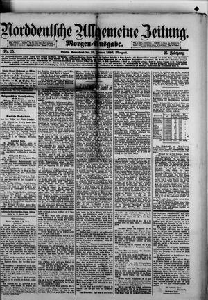 Norddeutsche allgemeine Zeitung vom 16.01.1886