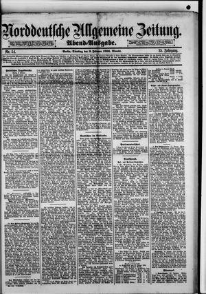 Norddeutsche allgemeine Zeitung on Feb 2, 1886