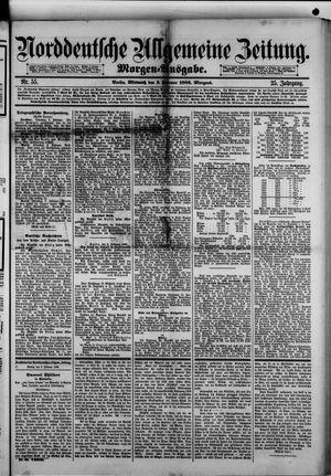 Norddeutsche allgemeine Zeitung vom 03.02.1886