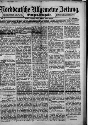 Norddeutsche allgemeine Zeitung vom 04.02.1886