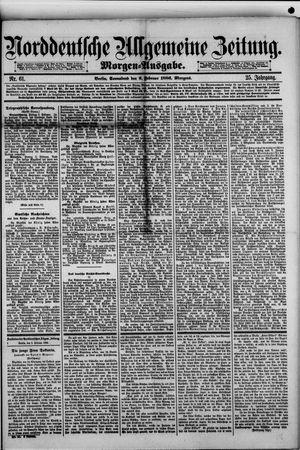 Norddeutsche allgemeine Zeitung vom 06.02.1886