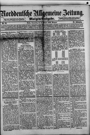 Norddeutsche allgemeine Zeitung on Feb 11, 1886