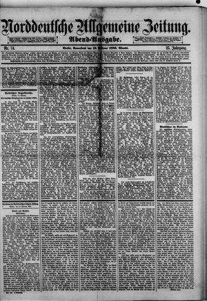 Norddeutsche allgemeine Zeitung vom 13.02.1886