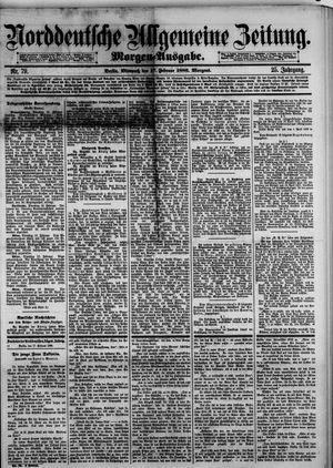Norddeutsche allgemeine Zeitung vom 17.02.1886