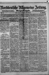 Norddeutsche allgemeine Zeitung (19.02.1886)