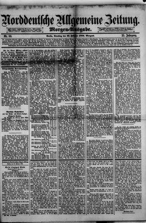 Norddeutsche allgemeine Zeitung vom 23.02.1886