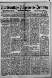 Norddeutsche allgemeine Zeitung (23.02.1886)