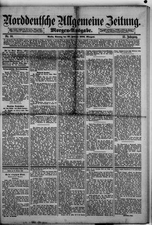 Norddeutsche allgemeine Zeitung vom 28.02.1886