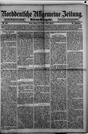 Norddeutsche allgemeine Zeitung vom 01.03.1886