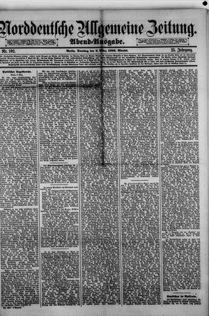 Norddeutsche allgemeine Zeitung vom 02.03.1886