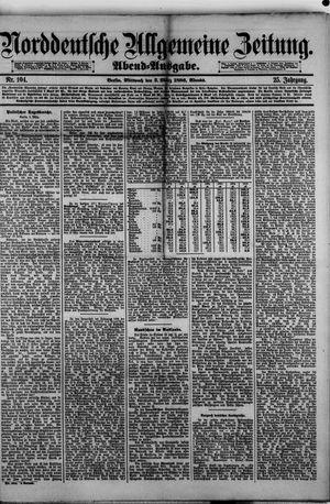 Norddeutsche allgemeine Zeitung vom 03.03.1886