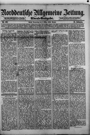 Norddeutsche allgemeine Zeitung on Mar 4, 1886