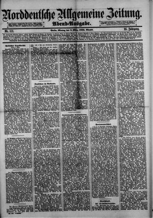 Norddeutsche allgemeine Zeitung vom 08.03.1886
