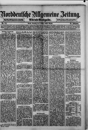 Norddeutsche allgemeine Zeitung vom 09.03.1886