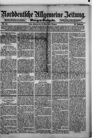 Norddeutsche allgemeine Zeitung vom 10.03.1886