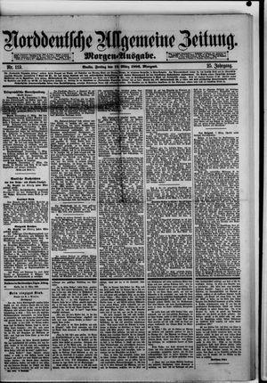 Norddeutsche allgemeine Zeitung vom 12.03.1886