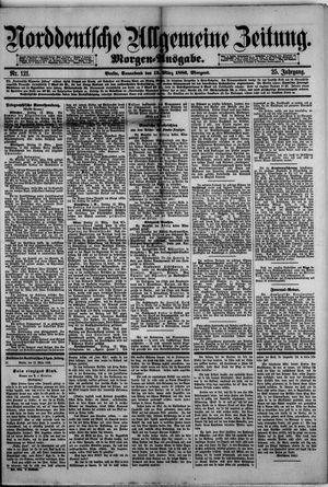 Norddeutsche allgemeine Zeitung vom 13.03.1886