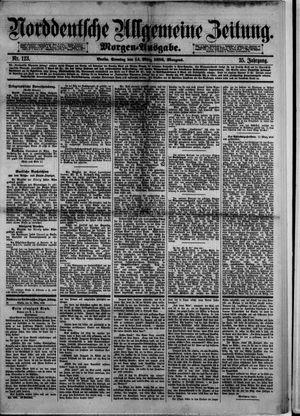 Norddeutsche allgemeine Zeitung vom 14.03.1886