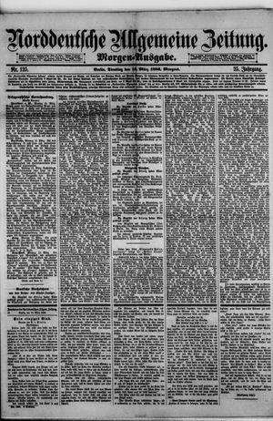 Norddeutsche allgemeine Zeitung vom 16.03.1886