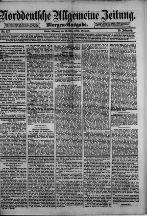 Norddeutsche allgemeine Zeitung vom 17.03.1886
