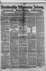 Norddeutsche allgemeine Zeitung (18.03.1886)