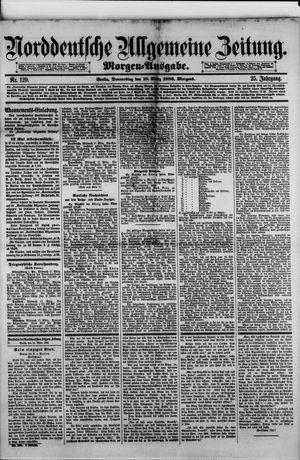 Norddeutsche allgemeine Zeitung vom 18.03.1886