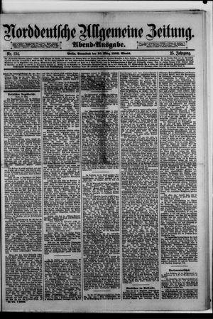 Norddeutsche allgemeine Zeitung vom 20.03.1886