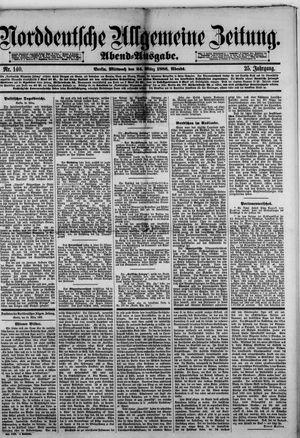 Norddeutsche allgemeine Zeitung vom 24.03.1886