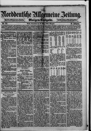 Norddeutsche allgemeine Zeitung vom 27.03.1886