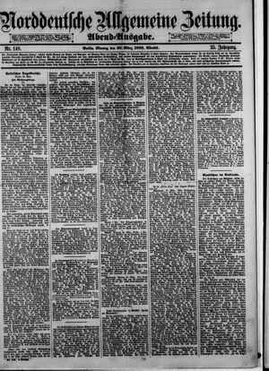Norddeutsche allgemeine Zeitung vom 29.03.1886